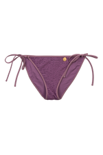 Blossum Purple Bikini Brief Flat Lay