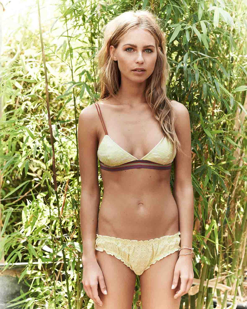 Lolita Yellow Briefs Model