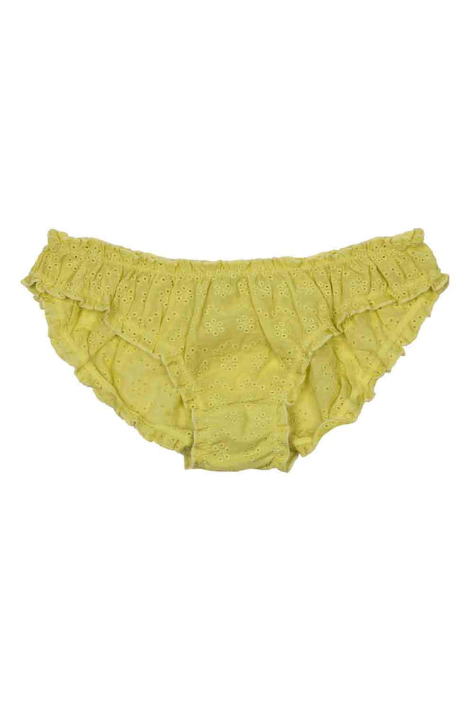 Lolita Yellow Briefs Flat Lay