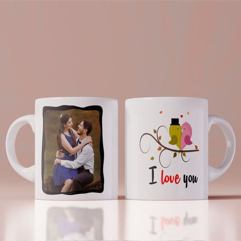 I Love You Photo Coffee Mug