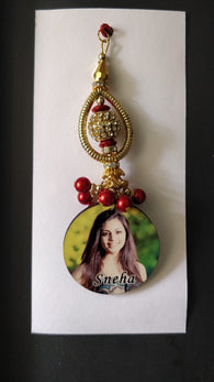 Customised Lumba Rakhi for bhabhi