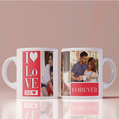 I Love You Forever Photo Mug
