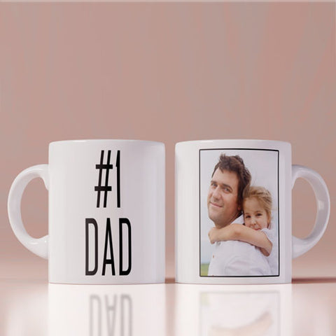 No. 1 Dad Coffee Mug