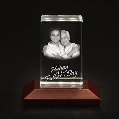 Personalised 3D Photo Crystal