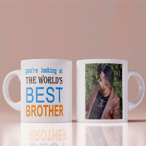 World's Best Brother Personalized Coffee Mug