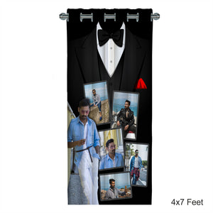 Customized Photo Curtain