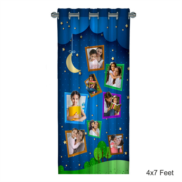 Customised Photo Curtain