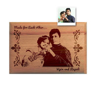 wooden Engraving Frame Deeher Gifts Pune