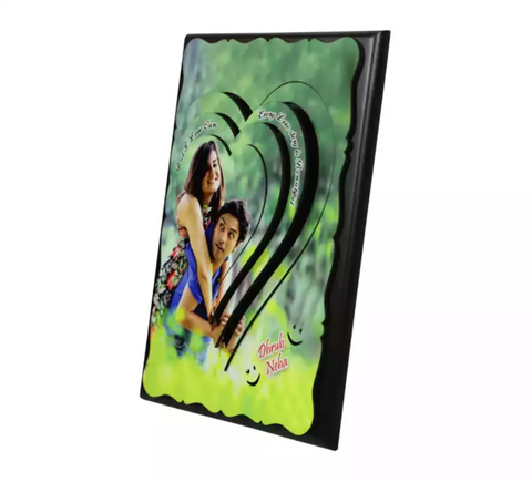 Multi Layered Personalized Photo Frame - 3d effect