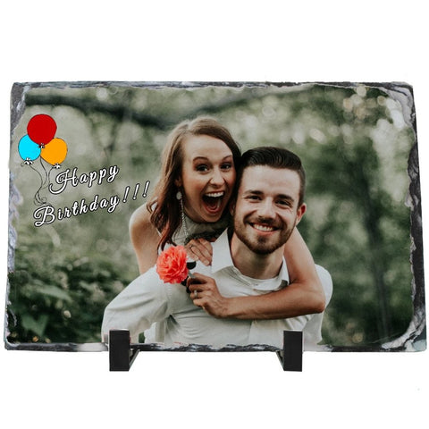 Customized Stone Photo Frame