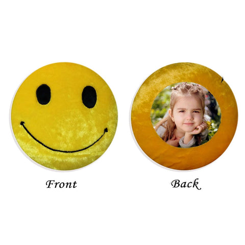 Customized Emoji Photo Cushion With Filler