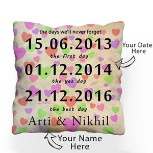 Customised Cushion With Filler