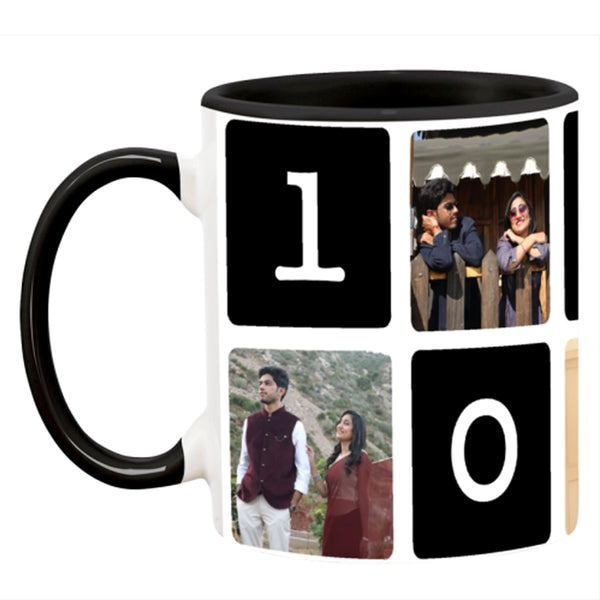 Memories Love Theme Collage Photo Coffee Mug