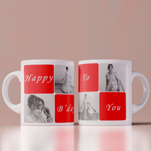 Happy Birthday To You Photo Mug