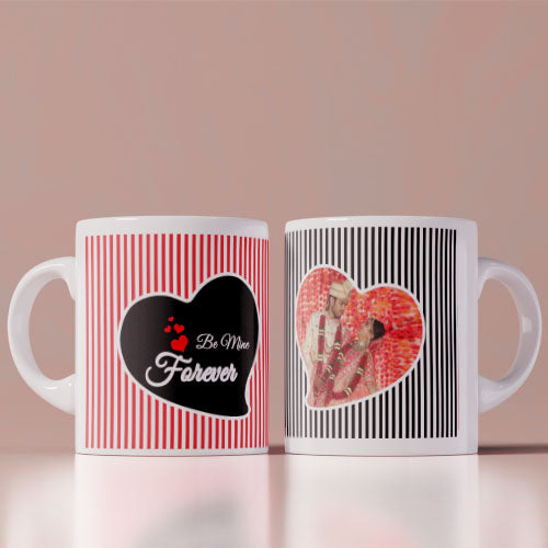 Be Mine Forever Photo Coffee Mug