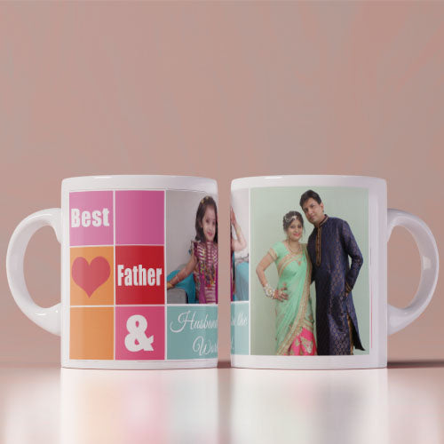 Best Husband And Best Father  Coffee Mug