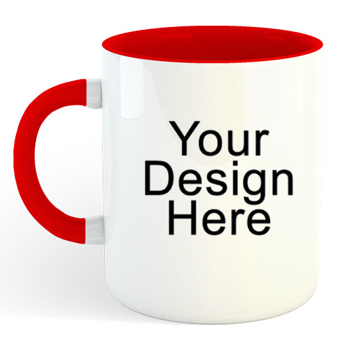 Create Your Own Mug (Multiple color options)