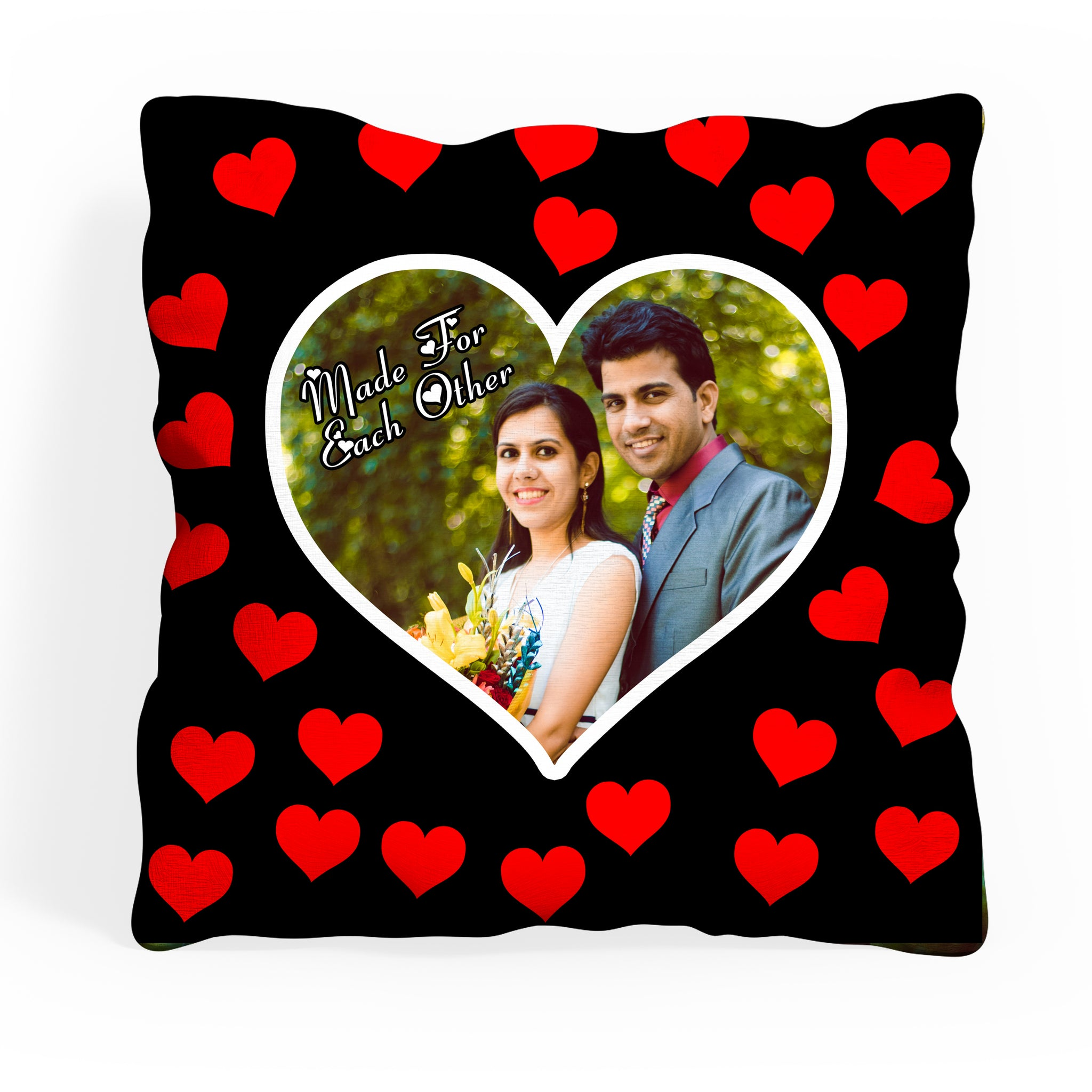 Personalized Photo Cushion With Filler