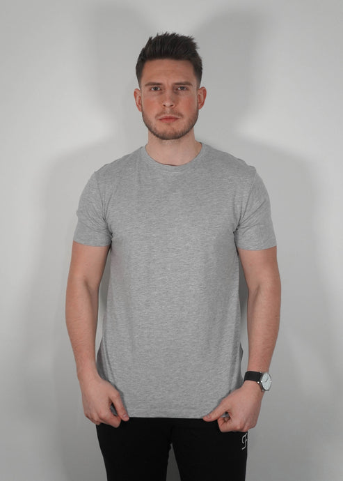 Lightweight T-Shirt In Heather Grey
