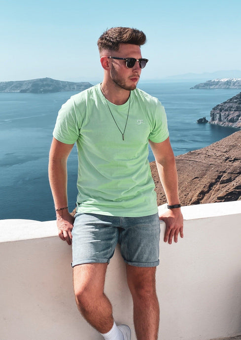 Essential T-Shirt Minimal In Neo Mint