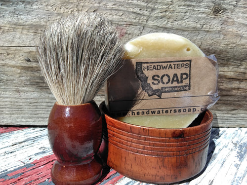 Old-fashioned Shave Kit