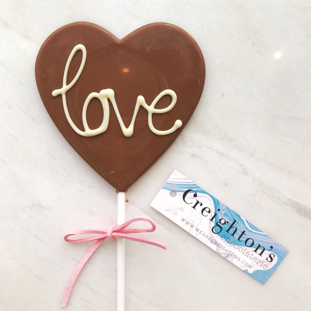 Love Chocolate Lolly