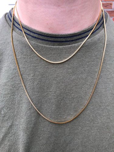 Gold Box Chain