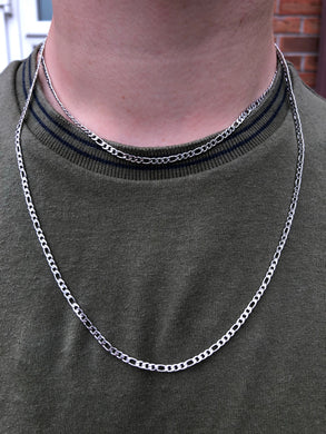 Silver Figaro Chains