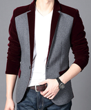 Velvet Blazer Men Wear