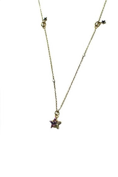 Maria Francesca Pepe - Starry night charm necklace