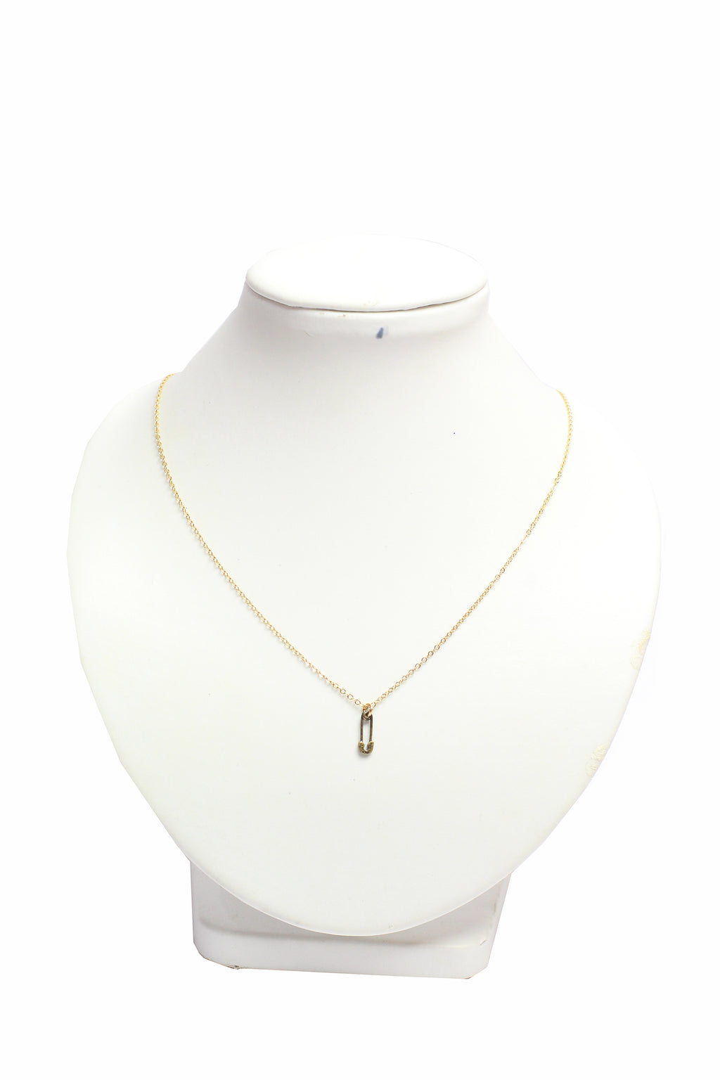 "Dogeared - New mom necklace, safety pin, 18"" with 2"" extender"