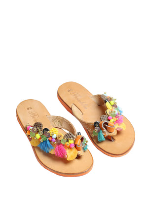 Biscuit Party Sandal