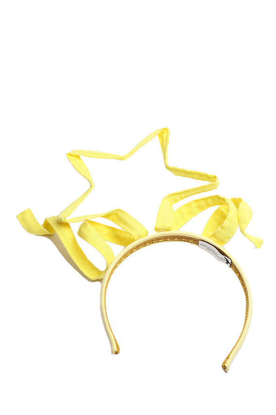 Francisco Ballestrazzi - Headband with yellow ribbons