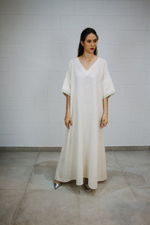 Off white kaftan