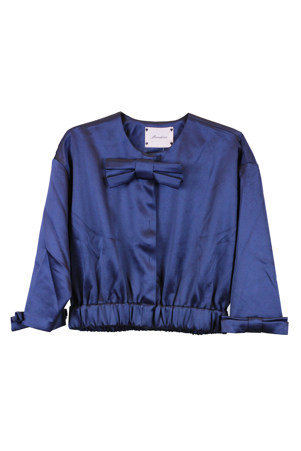 Fleamadonna - SATIN RIBBON JACKETNAVY Size Large