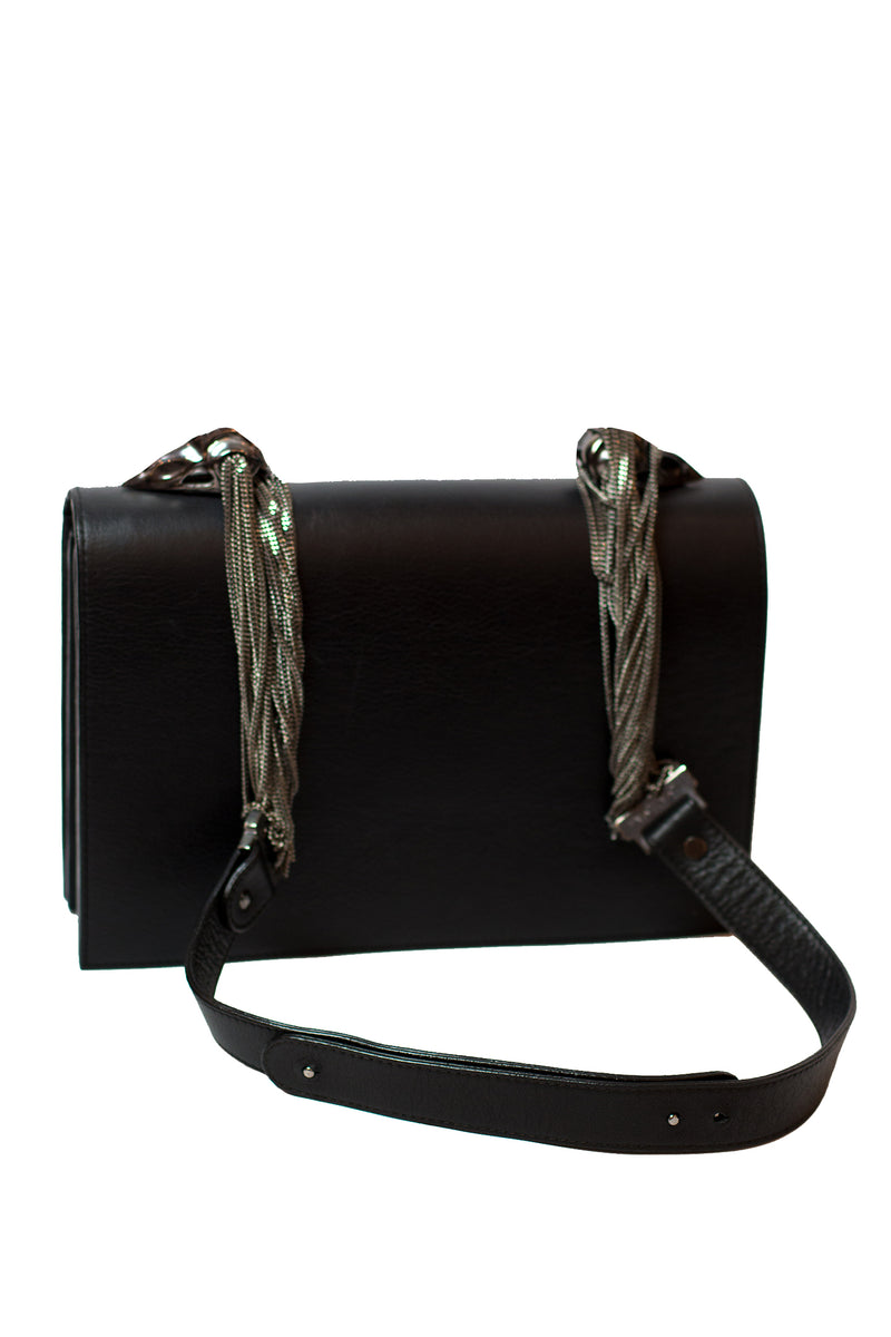 Lya Lya -  The lure Black / Gun Metal Bag