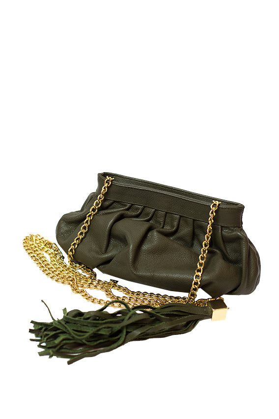 CC Skye - the bella crossbody, olive python