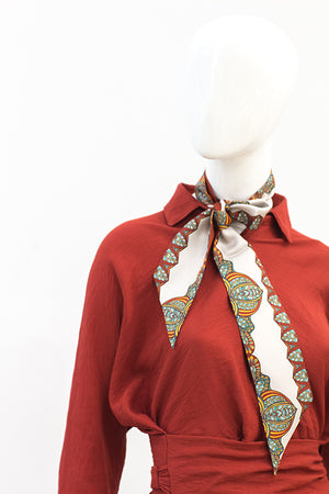 Peafowl Neckerchief  Design 10
