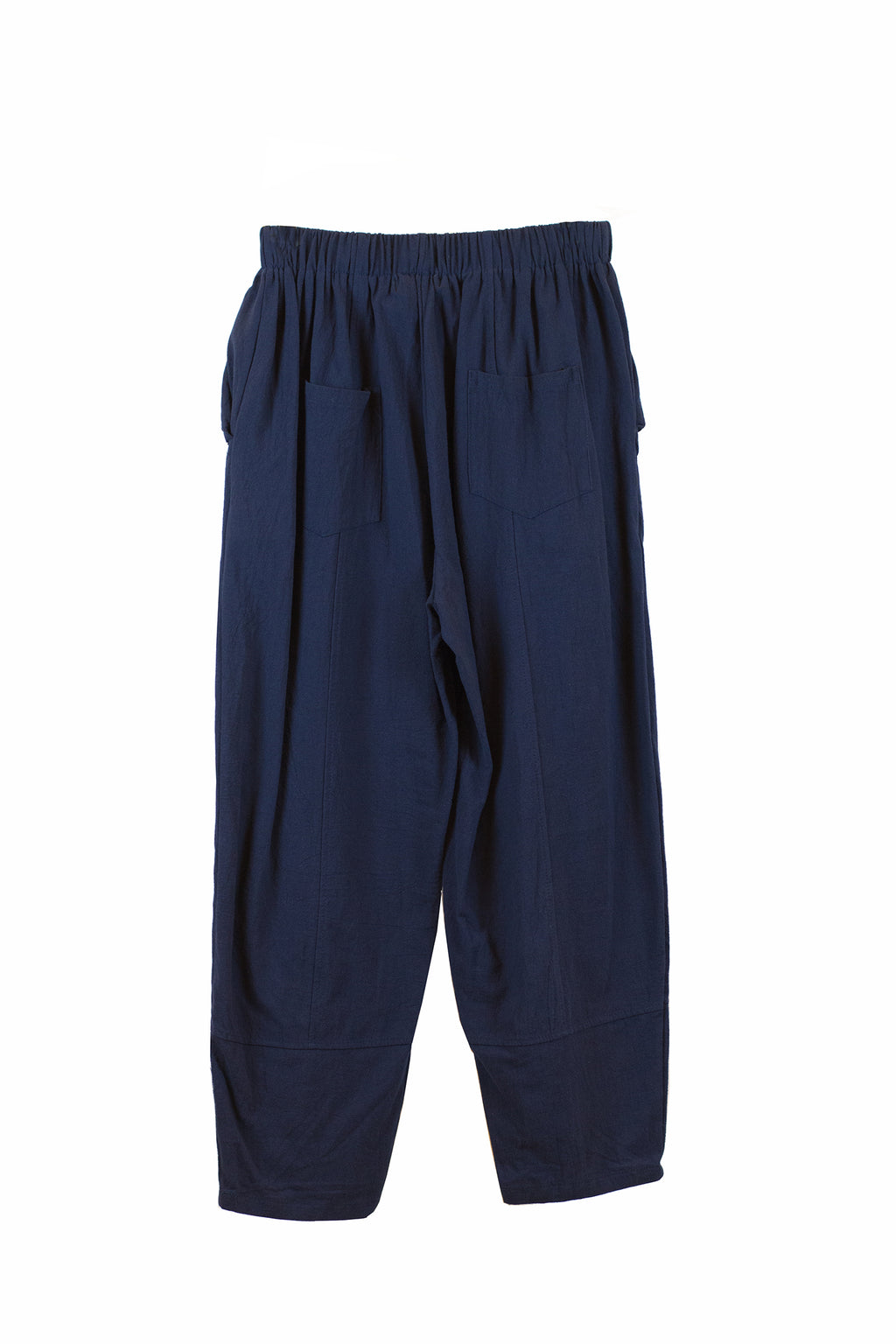 Navy blue square pants