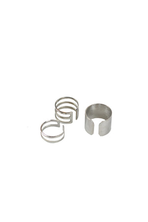 Shadow ALRNS - 3 RING SILVER
