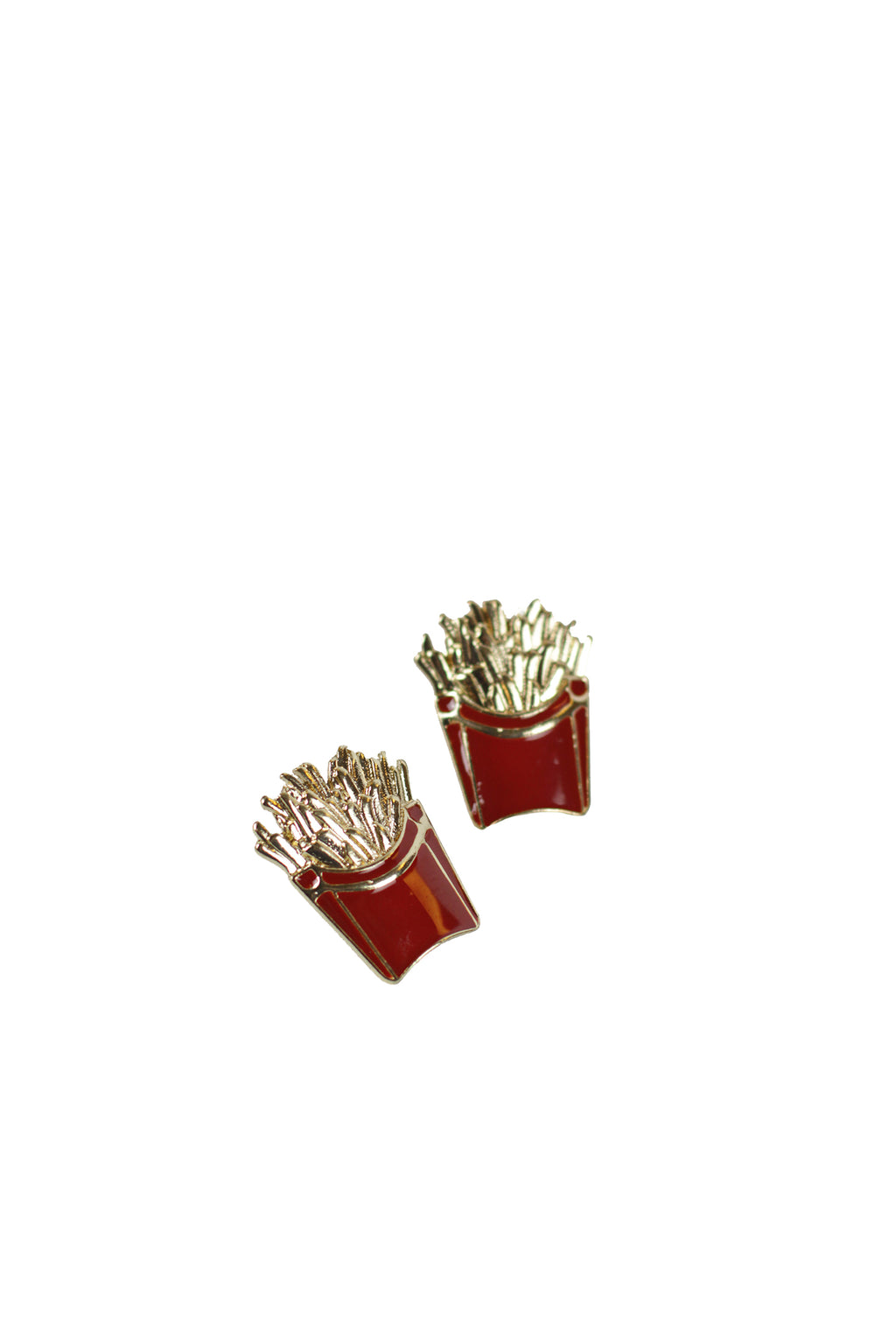 Shadow French fries - French fries fashion Earring