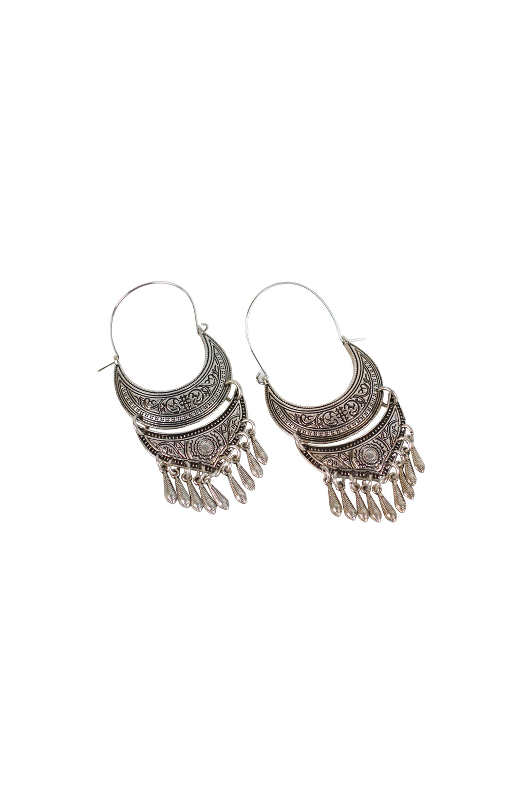 Shadow - Tribal earring