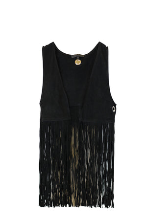 American Retro - Edwin Waist Coat Co China,  Fringe Tassel Vest