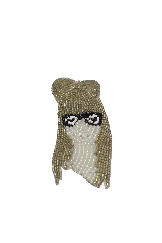 Marianne Battle - Lady Gaga brooch pin