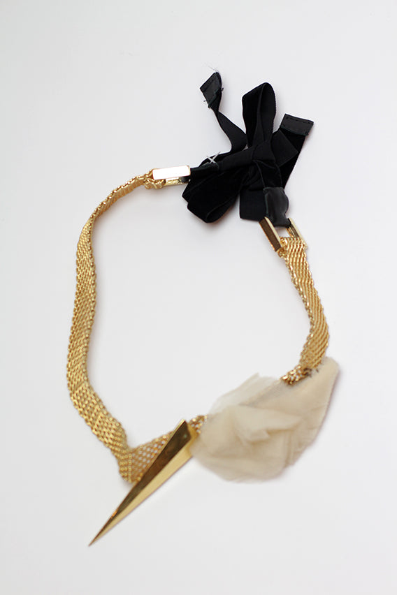 Maryam Keyhani - Eleanor cream necklace