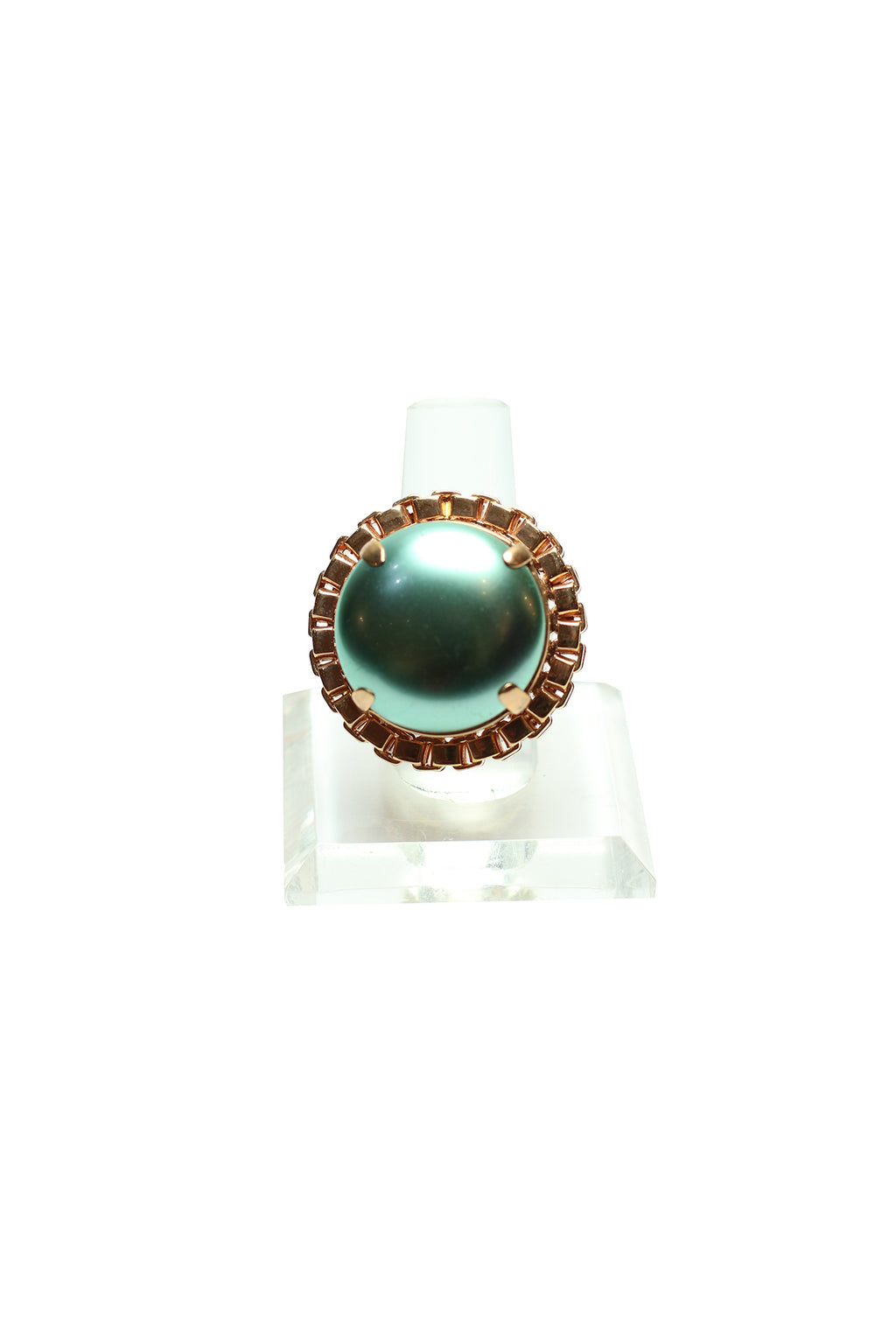 Mawi - Cabouchon pearl ring