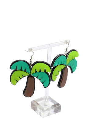 Coconut fashion earring