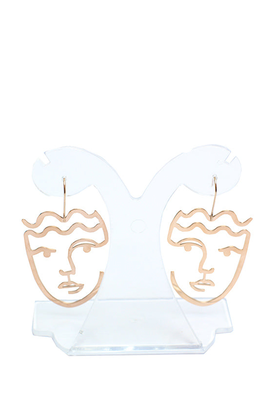 Shadow - Face shapeآ earring