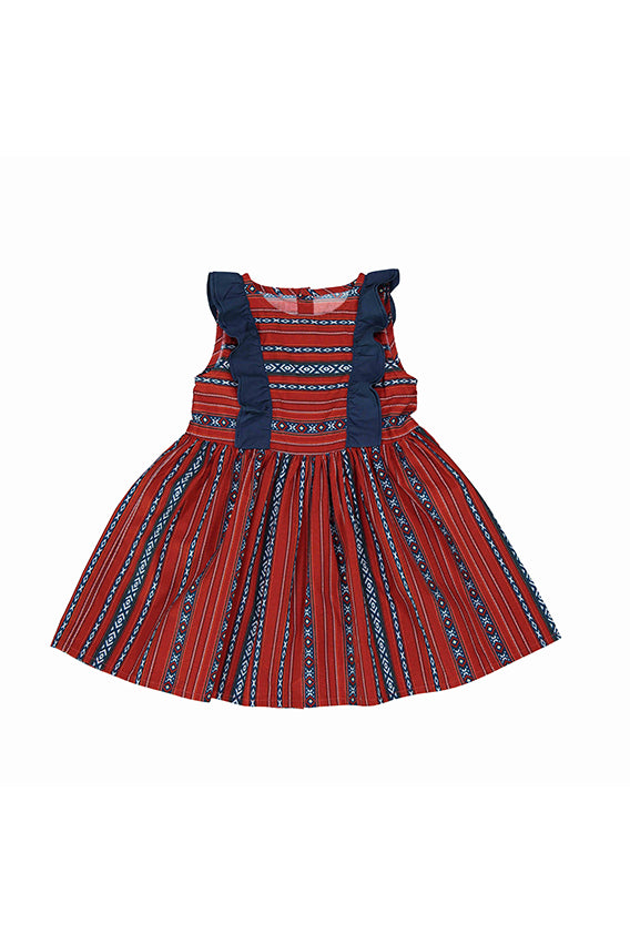 Kids Baby Elephant - Sadu dress with matching bloomers