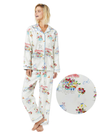 Flower cart blue pajama